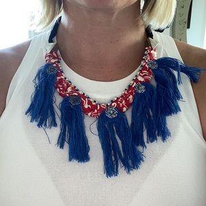 5/$5 H&M cloth statement necklace